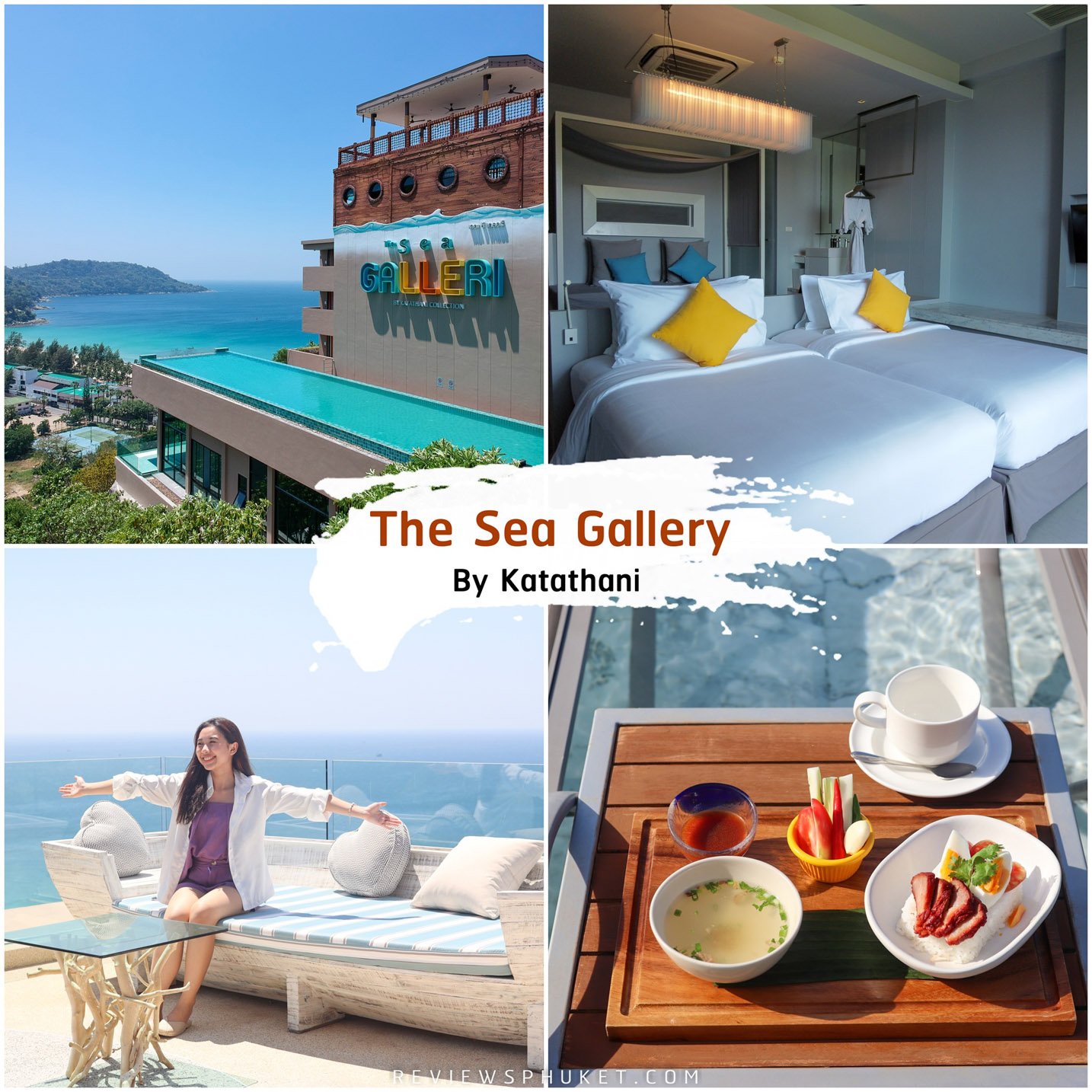 The-Sea-Galleri ที่พักภูเก็ต-แบบเด็ดสุดๆ-อันดับ-1-ในดวงใจกันเลยครับ-ที่นี่ชื่อว่า-The-Sea-Galleri-เป็นโรงแรมในเครือกะตะธานี-ที่มีโรงแรมอยู่ด้านล่างหาดชื่อว่า-Katathani-Phuket-Beach-Resort-และ-The-Shore-at-Katathani-อะกลับมาที่โรงแรมเดอะซี-แกลเลอรี่กัน-ที่นี่บอกเลยจุดเด่นคือการดีไซน์-เป็นการออกแบบสไตล์รุ่นใหม่-โมเดิร์น-Art-ใช้ตัวหลักตัวเด่นของเรือเป็นส่วนที่ดำเนินเรื่องราว-แอดเรียกได้ว่าเป็นดินแดนสุดแสนโรแมนติกเลยล่ะ-ตั้งแต่เข้ามาในห้องพักคือแบบ-Modern-สุดๆทั้งเตียง-ทั้งโคมไฟ-ห้องน้ำ-ถูกจัดเรียงมาอย่างดี-แถมยังมีอ่างอาบน้ำจากุชชี่ใหญ่ๆ-ให้นอนแช่ตีโฟม-ชมทะเลภูเก็ตแบบวิวหลักล้านกันด้วยเลยครับ-อะรีวิวกันต่อในส่วนของโซนร้านอาหาร-มีโซนทางด้านเรือ-และโซนทางด้านสระว่ายน้ำ-ทั้ง-2-แบบคือฟิลลิ่งแตกต่างกัน-แบบหนึ่งคือสไตล์ชิวๆ-ริมสระ-และอีกแบบคือสไตล์ดินเนอร์หรูๆ-บนตัวเรือ-และใกล้ๆตัวเรือ-แบบวิวหลักล้านกันเลยครับ-ในส่วนของเมนูแนะนำ-แอดยังย้ำเมนูเดิม-----ข้าวต้มแห้ง-และ-ข้าวหมูแดง--บอกเลยว่าอร่อยสุดๆ-ไม่แพ้ที่ไหนเลยครับ-รีวิวกันต่อในส่วนของพนักงานน่ารัก-บริการดีประทับใจครับ-บอกเลยว่าดีย์จริงน้าา-คอนเฟิร์มเลย-บอกเลยว่าเป็นหนึ่งใน-ที่พักภูเก็ต-โรงแรมภูเก็ต-ที่เที่ยวภูเก็ต-ในดวงใจเลยครับ-สวยและวิวหลักล้านจริงๆน้าา-สำหรับ-The-Sea-Galleri-by-Katathani ที่พักภูเก็ต,ที่พักหรู,วิวหลักล้าน,ริมทะเล,โรงแรม,รีสอร์ท,Phuket,หาดสวย,น้ำใส
