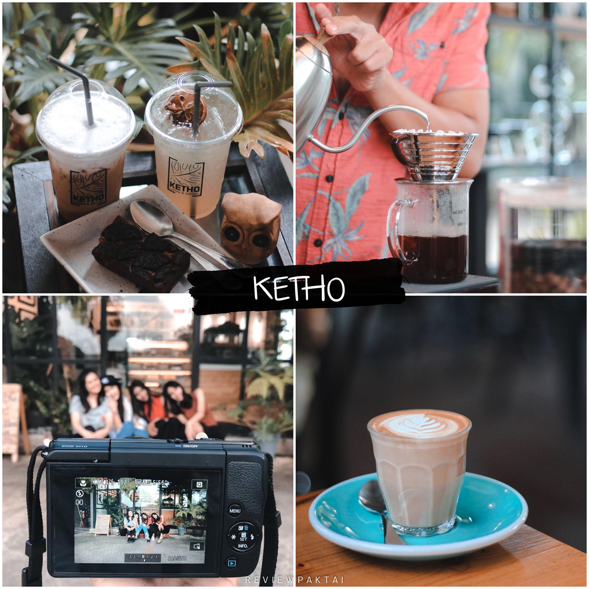 ร้านลับที่ไม่ลับ KetHo Coffee & Kitchen ร้านสวยตกแต่งมีสไตล์ ต้นไม้สีเขียวเยอะ เมนูอาหารให้เลือกเพียบแบบจุกๆไปเลยย
