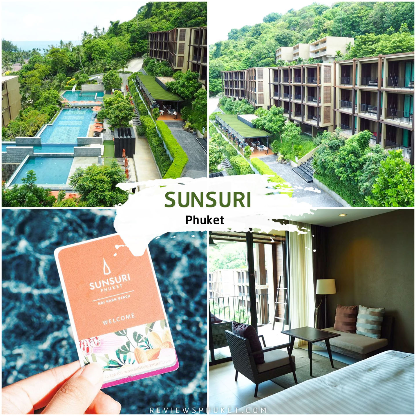 Sunsuri Phuket ที่พักภูเก็ตสุดสวย โอบล้อมไปด้วยสีเขียวฟินๆ